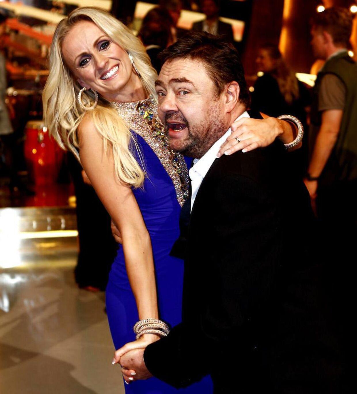 Marianne Eihilt sammen med Tommy Kenter, da de deltog i programmet i 2011.