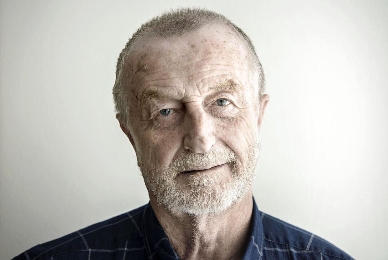 Lars Larsen fotograferet i Jydsks hovedsæde den 23. april 2019, inden han i juni meldte ud, at han trak sig tilbage fra Jysk på grund af leverkræft. Han blev 71 år.
