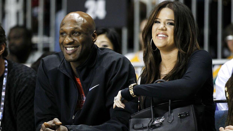 Lamar Odom var i flere år gift med Khloé Kardashian.