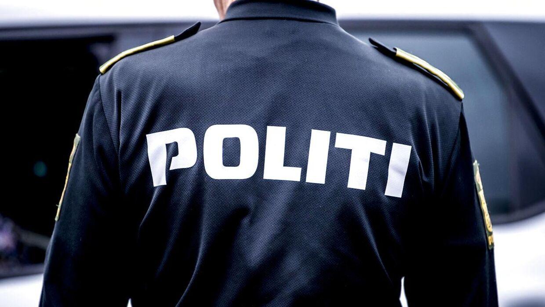 Politiet var til stede, men de oplyser, at der ikke var tale om en farlig situation.