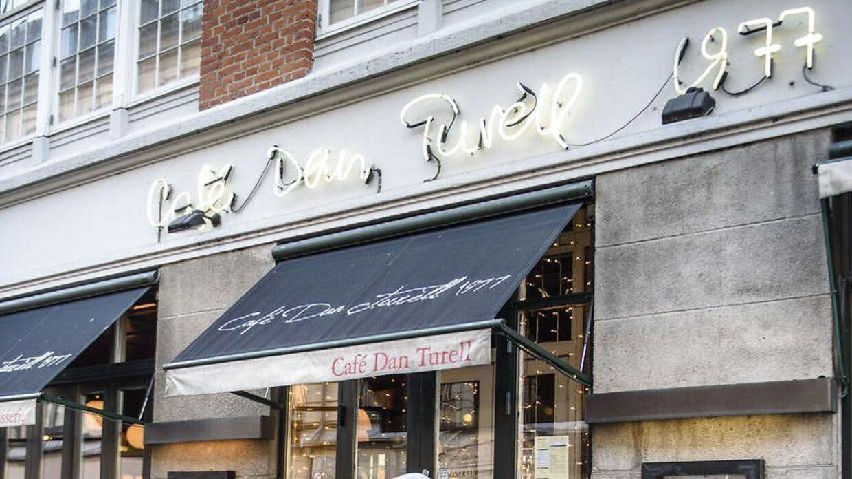 Café Dan Turéll er sat til salg.