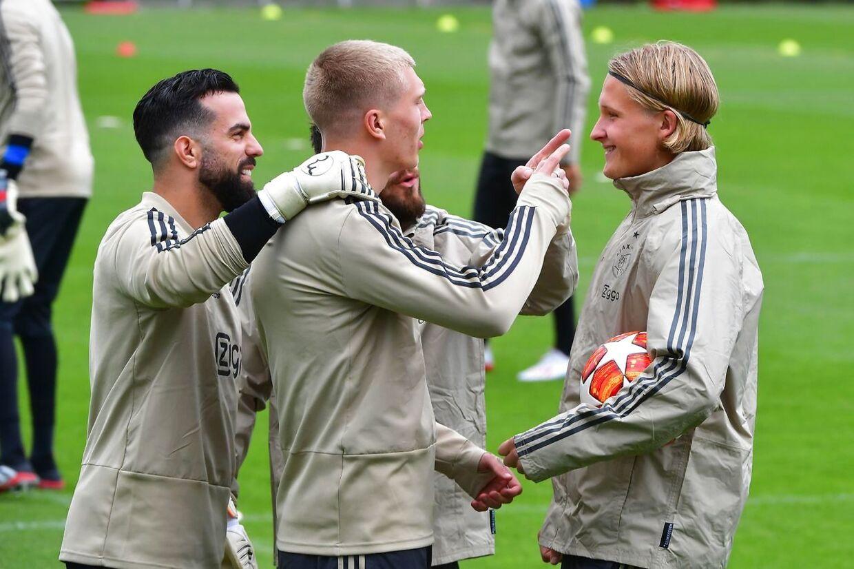 Kasper Dolberg er meget snart fortid i hollandske Ajax.