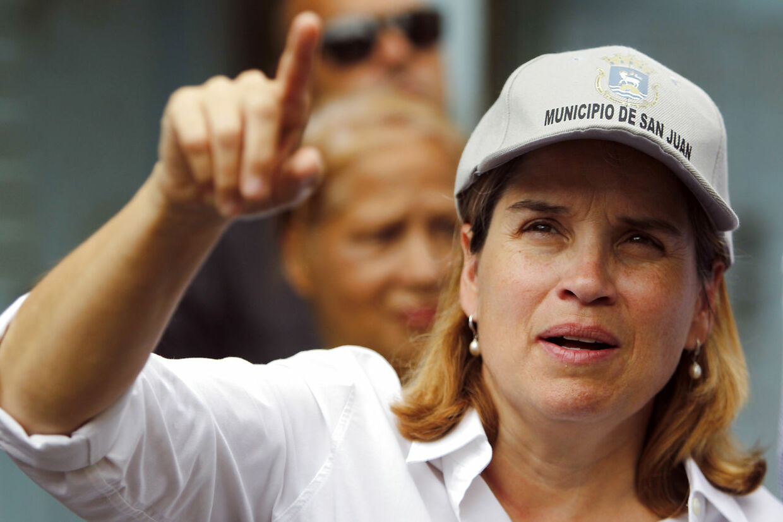 Stærk kvinde, Carmen Yulin Cruz, borgmester i San Juan, Puerto Rico.