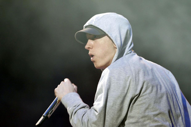 Eminem har milliarder af afspilninger på Spotify.