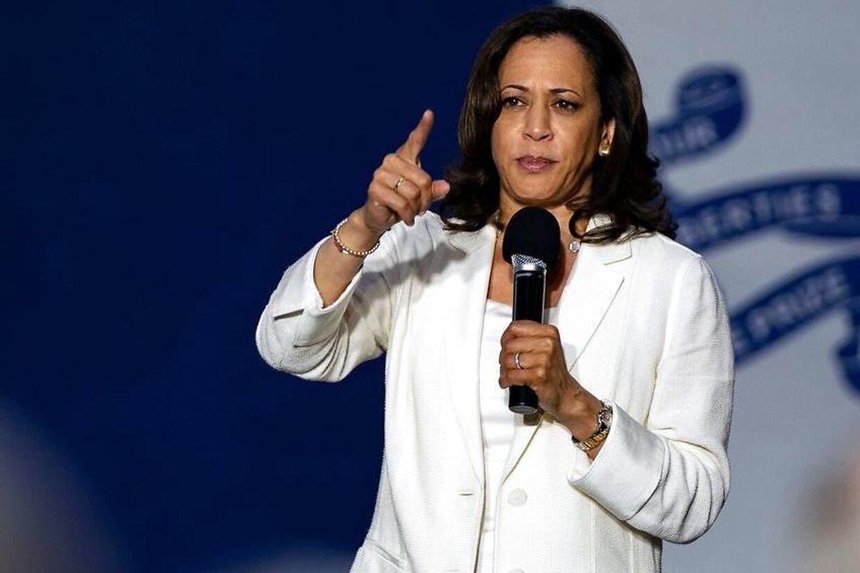 Stærk kvinde og stolt medlem af Nasty-klubben, Kamala Harris, senator og demokratisk præsidentkandidat.