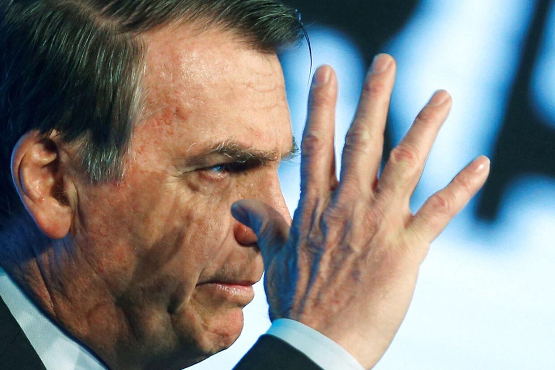 Brasiliens præsident Jair Bolsonaro.