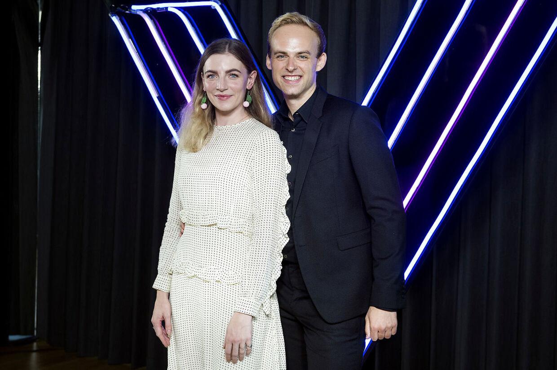 Mads Vad dannede sidste år dansepar med skuespillerinden Molly Egelind.