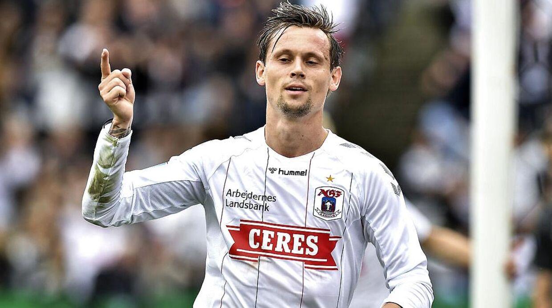 Jakob Ankersen scorede mod AGF.