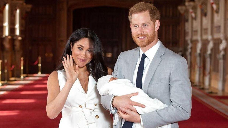Meghan og Harry blev forældre til prins Archie i begyndelsen af maj. Men den lille prins' morfar har endnu ikke set sit barnebarn.
