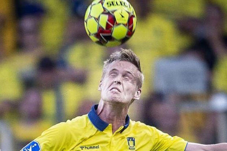 Anton Skipper lavede selvmål i kampen mod FC Midtjylland.
