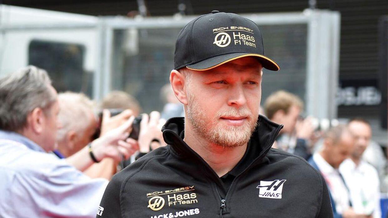 Kevin Magnussen er i gang med sit tredje år hos Haas.