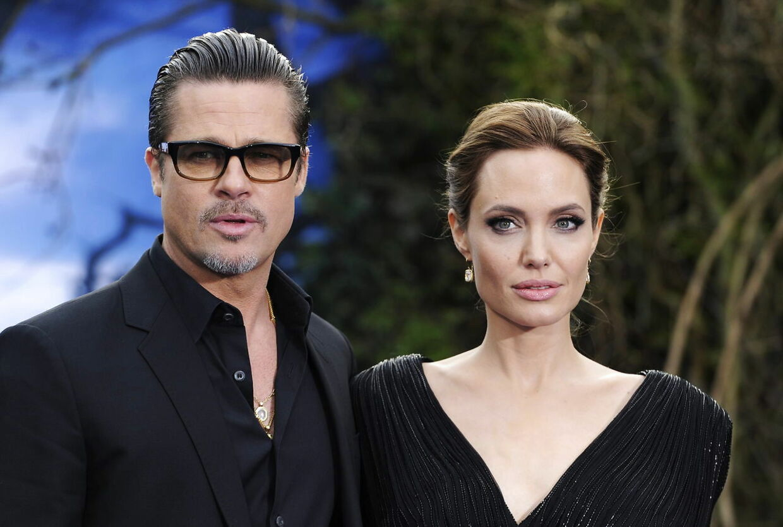 Pitt og Jolie i 2014.