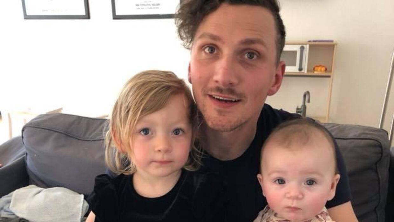 Familien har været igennem nogle hårde uger, men nu er Mia Nielsen erklæret rask. Foto: Privat.