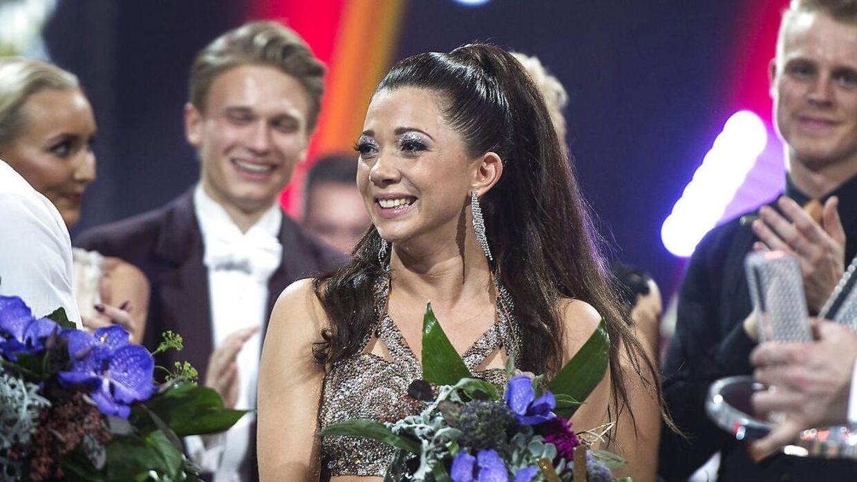 Sarah Mahfoud vandt 'Vild Med Dans' i 2016. Nu venter der Mahfoud muligheden for en endnu større triumf. (foto: Henning Bagger / Scanpix 2016)