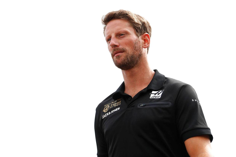Romain Grosjean havde en skuffende kvalifikation. (REUTERS/Francois Lenoir)