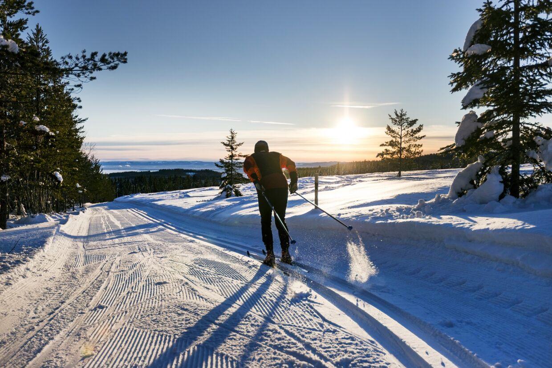 En forlænget weekend på et snehvidt bjerg. Sverige er tæt på Danmark, og ideelt til den korte ferie. (Foto: Grönklittsgruppen)
