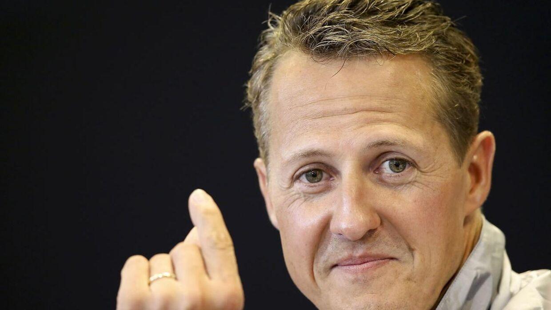 Michael Schumacher kom til skade under en skiulykke i 2013.
