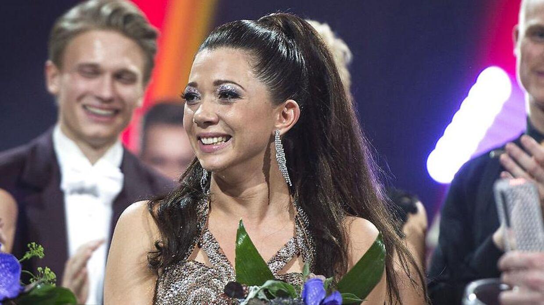 Sarah Mahfoud vandt i 2016 'Vild med dans' sammen med Morten Kjeldgaard.