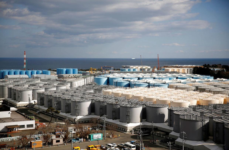 ARKIVFOTO fra Fukushima.