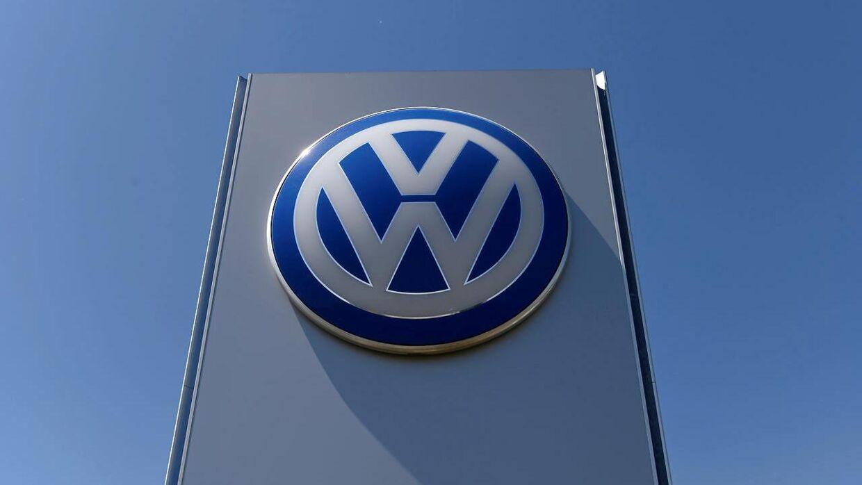 ARKIVFOTO af det gamle Volkswagen-logo.