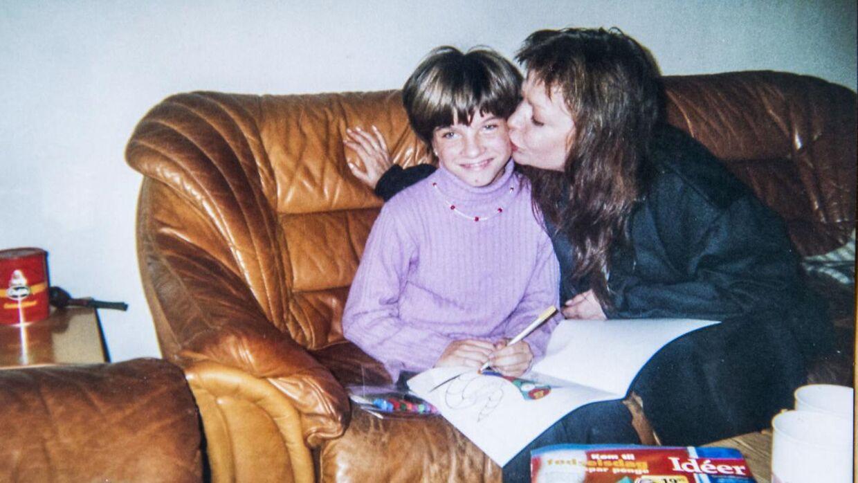 Gigi med sin mor. Gigis mor lever ikke længere. Foto: privat.
