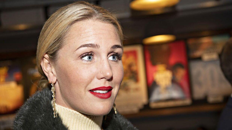 Jeanette Ottesen til gallapremiere på Peaky Blinders i Empire Bio på Nørrebro, torsdag den 5. september 2019