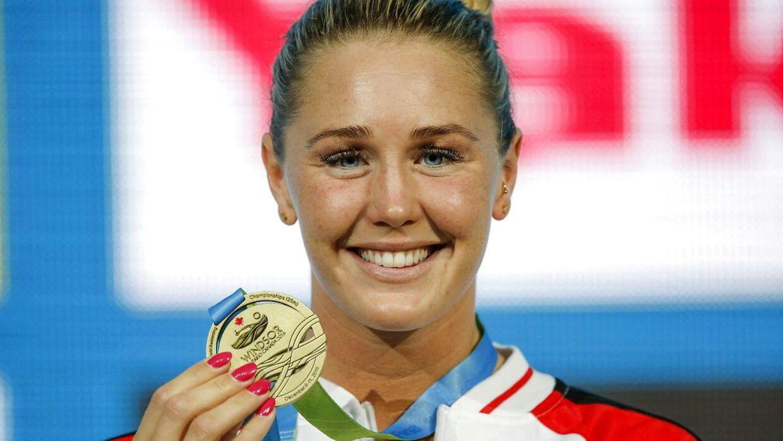 Jeanette Ottesen drømmer om at komme til OL i Tokyo næste år.