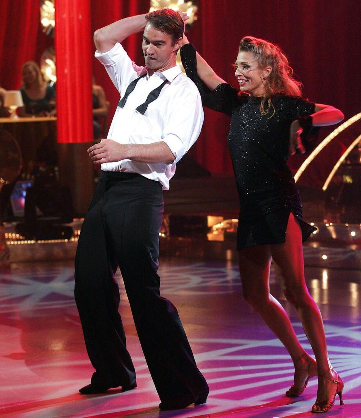 Kim Milton i 'Vild med dans'.