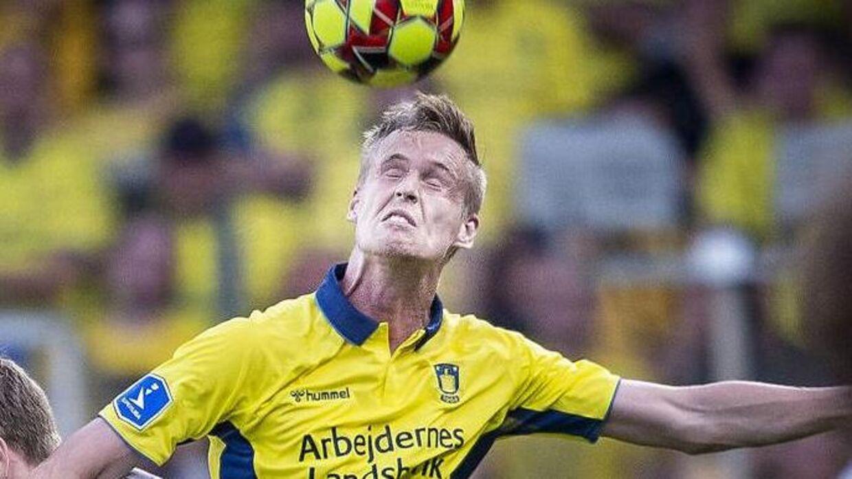 Anton Skipper (th.) er en af dem, der har fået chancen under Niels Frederiksen.