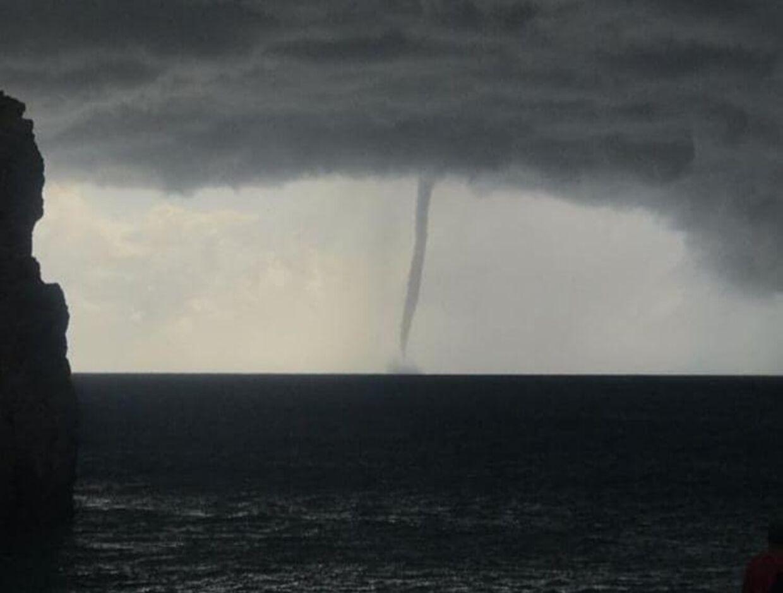 Tirsdag ramte uvejret Mallorca, hvor Jimmy Mikkelsen bor
