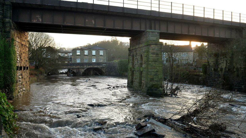 ARKIVFOTO af River Irwell.