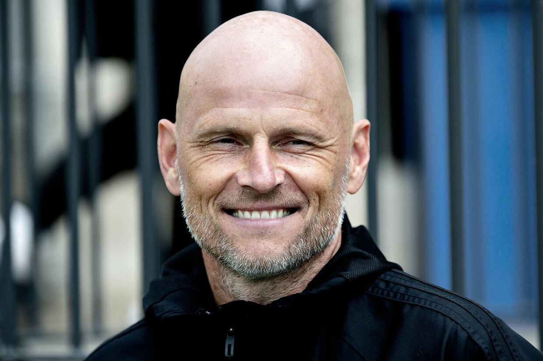 »I min FCK-tid har jeg ikke oplevet så meget opmærksomhed om en spiller til en træning,« siger Ståle Solbakken.
