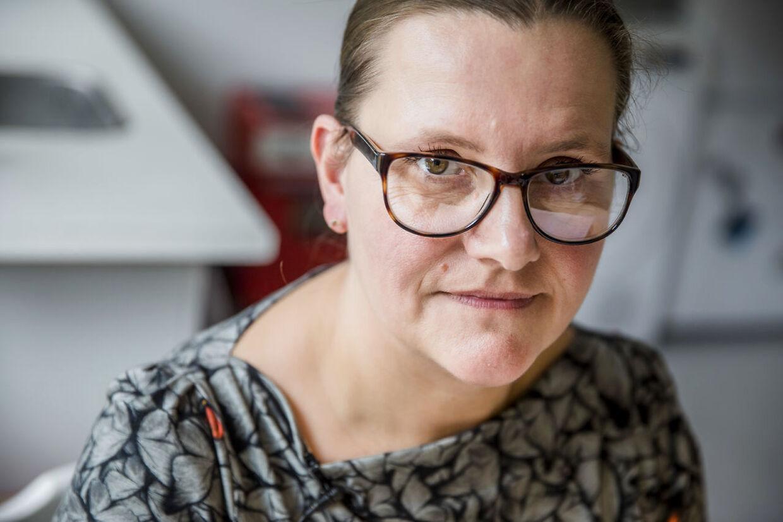Dorte Hansen havde forestillet sig, at hun først skulle have en mand og så et barn. Men sådan blev det ikke.