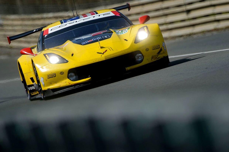 Jan Magnussen stopper hos Corvette.