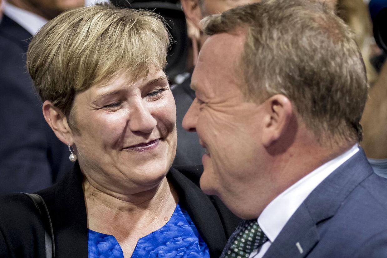 Lars Løkke Rasmussen og Solrún Løkke Rasmussen har sammen stiftet et anpartsselskab.