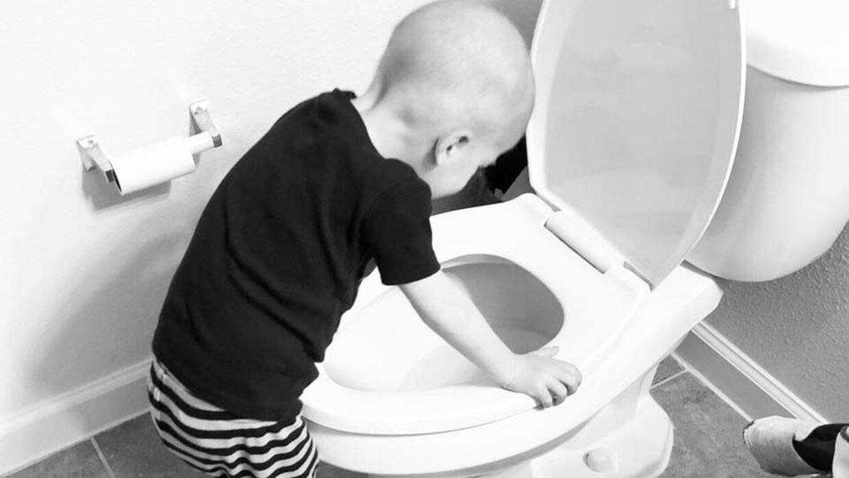 Fire-årige Beckett lider af blodkræft - også kaldet børneleukæmi.