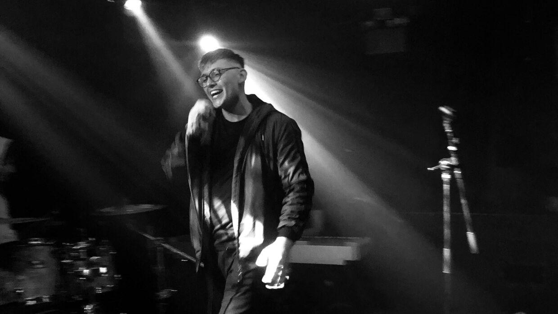 Patrick Piscot har netop givet koncert på det københavnske spillested Rust. Foto: Adrian Dadgar