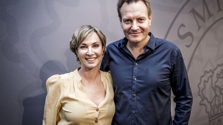 Natasja Crone og Rasmus Tantholdt har dannet par de seneste tre år. (Foto: Mads Claus Rasmussen/Scanpix 2017)