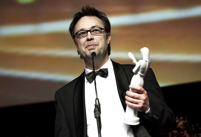 Henrik Ruben Genz da han i 2009 vandt en Bodil for filmen 'Frygtelig lykkelig'.