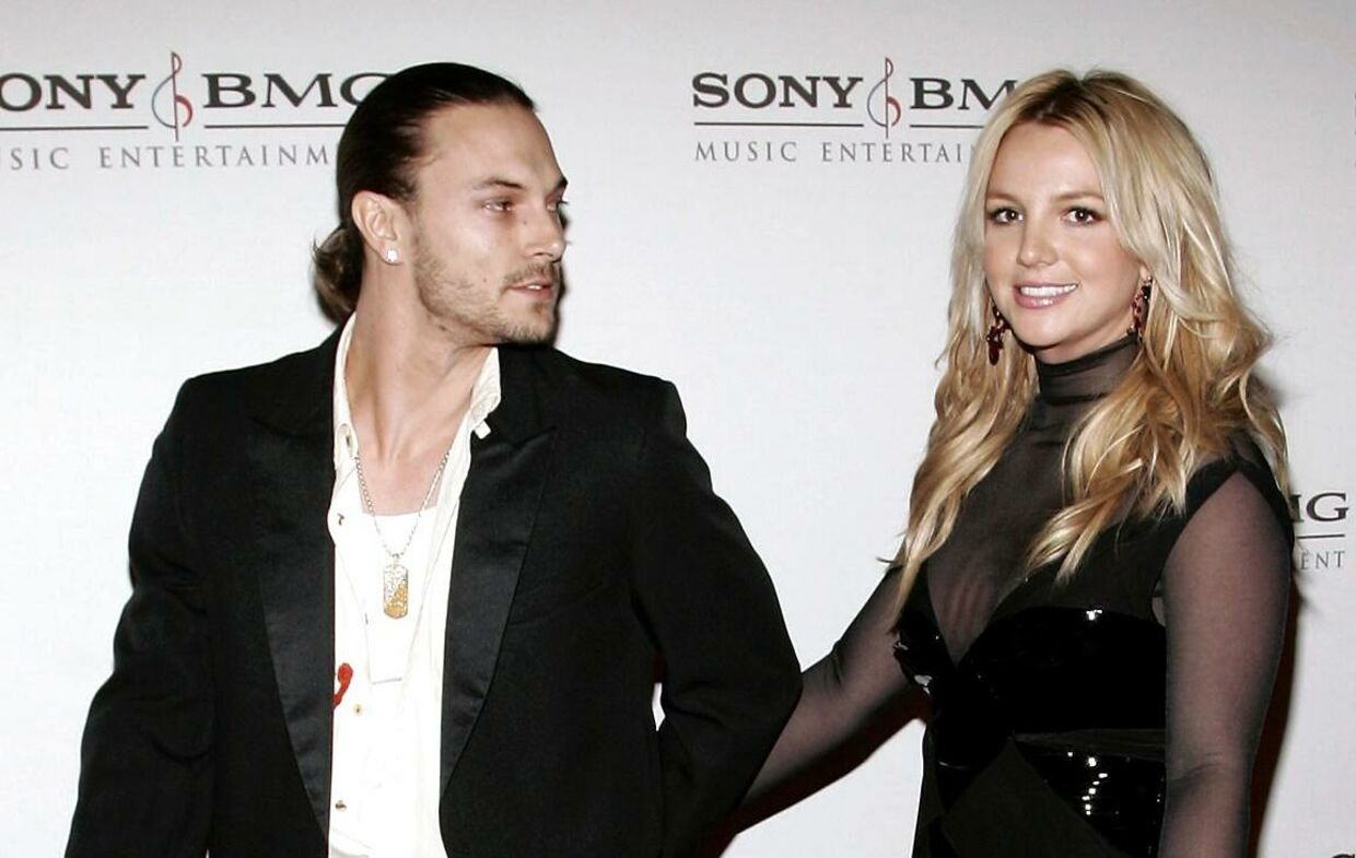 Kevin Federline og Britney Spears.