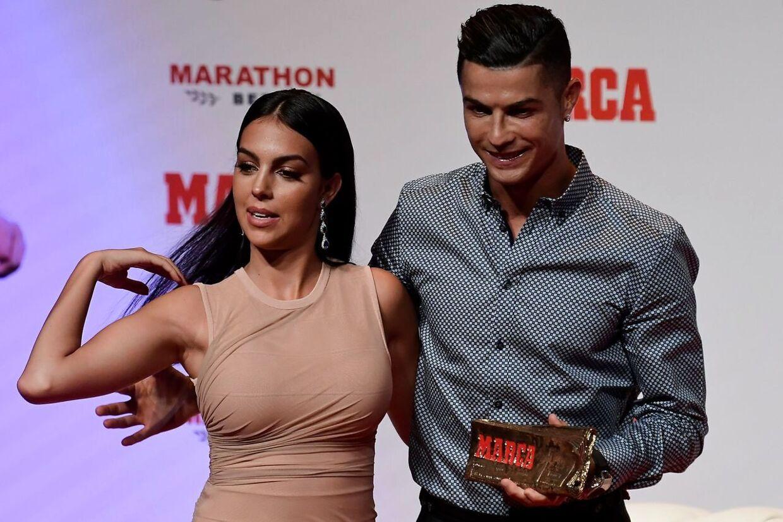 Cristiano Ronaldo og Georgina Rodriguez.