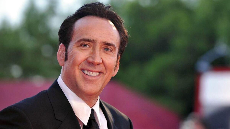Sådan kender vi Nicolas Cage fra den røde løber. (Foto: Scanpix)