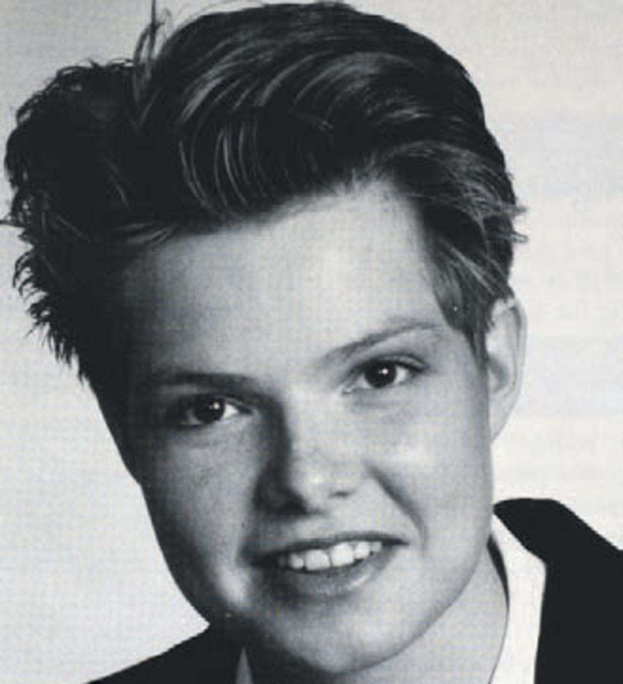 Billedet af Inger Støjberg på hendes første valgplakat