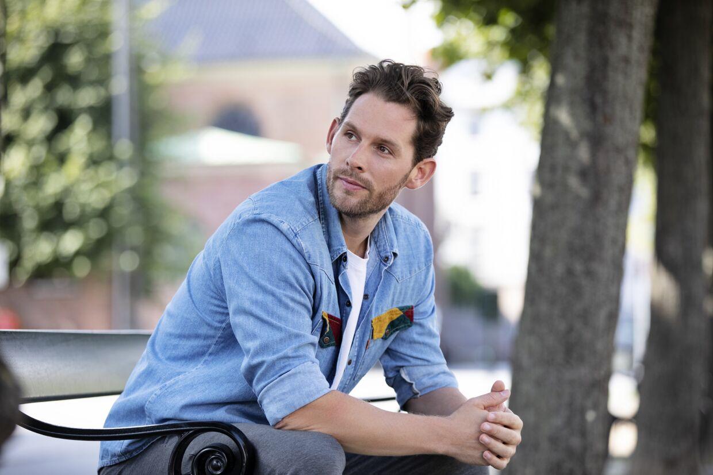 Rasmus Seebach er aktuel med singlen 'Lovesong'.