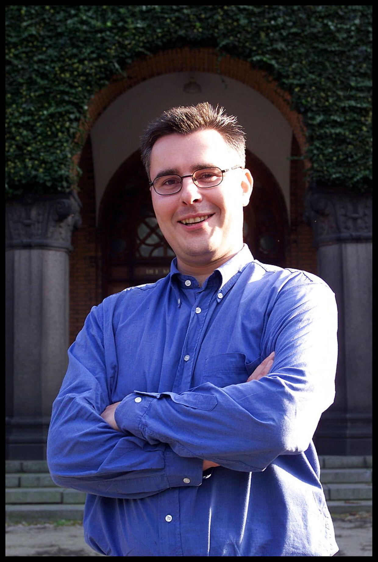 Formanden for DSU, Henrik Sass Larsen.