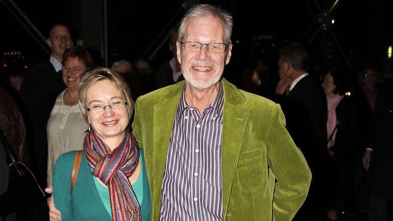 Lars Stryg og daværende kæreste, nu kone, Jette, i 2010. (Foto: Scanpix)