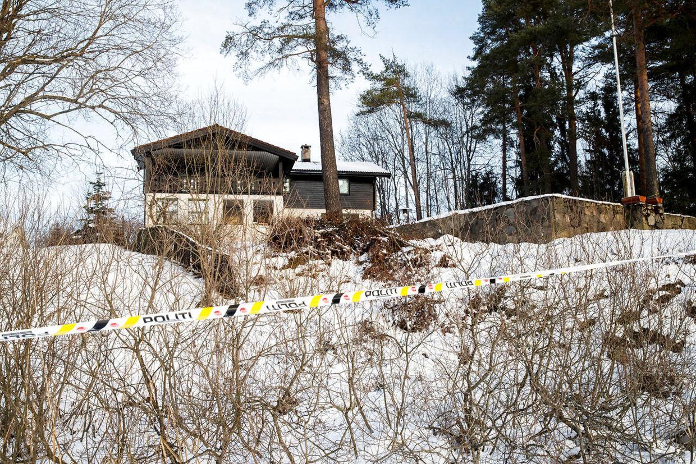 Den norske milliardær Tom Hagen og hans hustru Anne-Elisabeth Hagen bor i denne villa i lørenskog øst for Oslo.