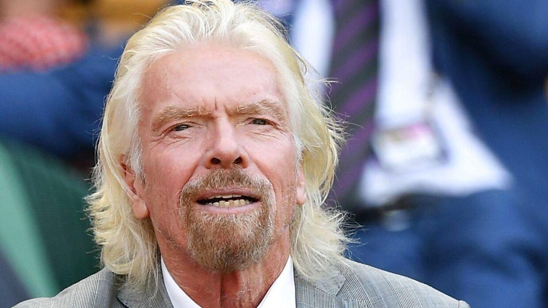 Varemærket Virgin, der blandt andet dækker over et musikselskab, et flyselskab og Virgin Galactic, der arbejder på at udbyde kommercielle rumflyvninger i nær fremtid, har gjort Richard Branson rig. Arkivbillede.