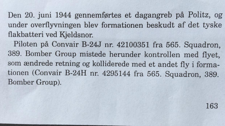 Fra 'En dråbe i havet: Langeland under 2. Verdenskrig' af Bent Andersen m.fl. Bogen er udgivet i 1994 af Rudkøbing Byhistoriske Arkiv.