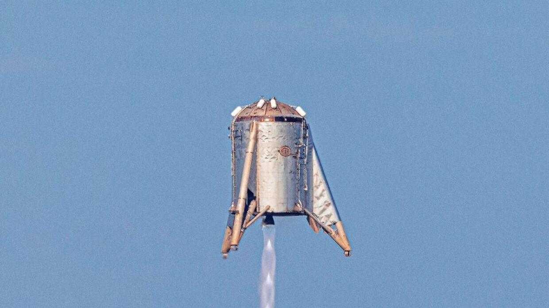 SpaceX testede tidligere i år deres prototype 'Starhopper', der er en del af det rumskib, der skal kunne sendes til Mars.